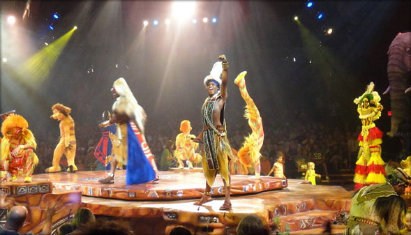 The Animal Kingdom The Festival of the Lion King