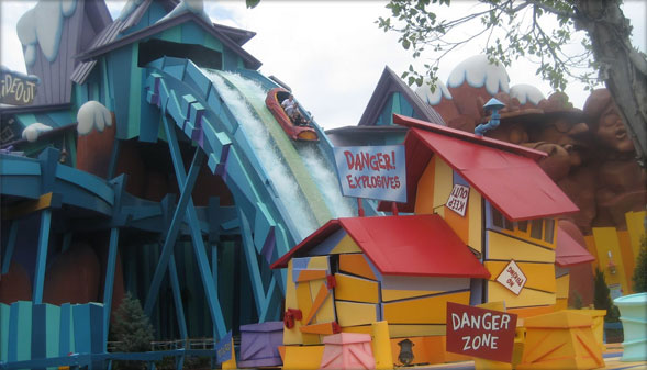 Dudley Doo Right's RipSaw Falls