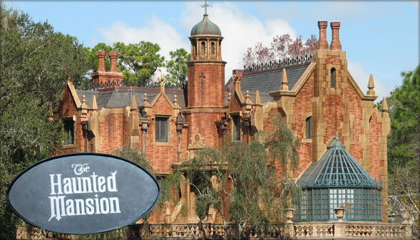 The Haunted Mansion at The Magic Kingdom